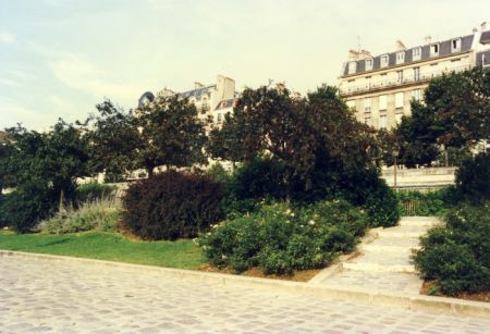 JARDIN DE L'ARSENAL
