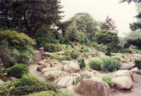 ROCK GARDEN - NEW YORK BOTANICAL GARDEN